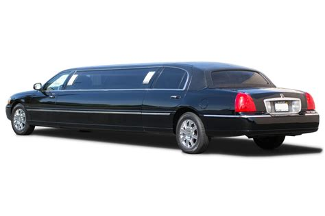 limo town car service lincoln town car limousine innen