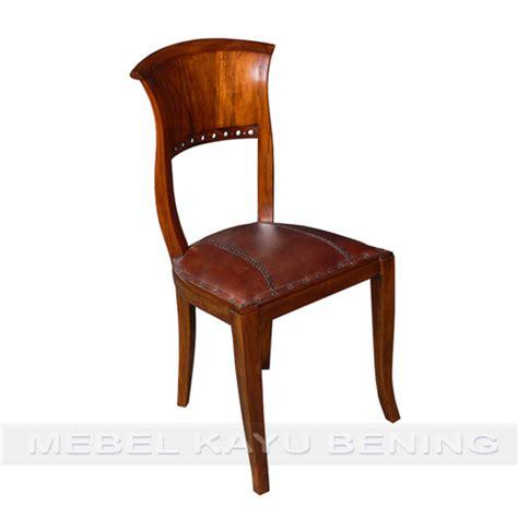 Kursi Kayu Antik kursi makan antik kayu jati kipas mebel kayu bening