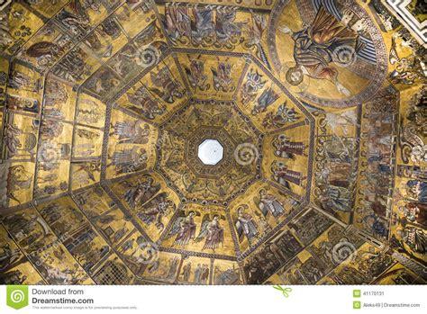 pittura soffitto pittura soffitto battistero di san
