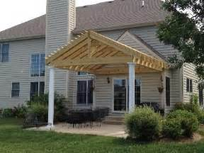 Gable Pergola Plans by Pergola With Pitched Gable Roof Garden Pinterest