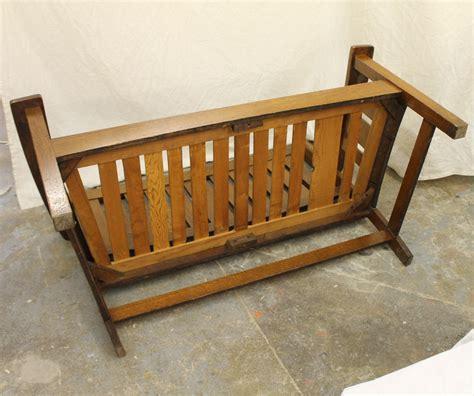 mission oak bench bargain john s antiques 187 blog archive mission quarter