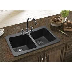 Kitchen Sink Black Granite Granite Kitchen Sink Roselawnlutheran