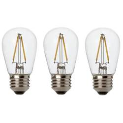 newhouse lighting 2w s14 led replacement string light