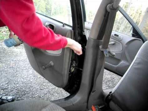 Squeaky Car Door by How To Fix Car Door Hinge Squeak Creak