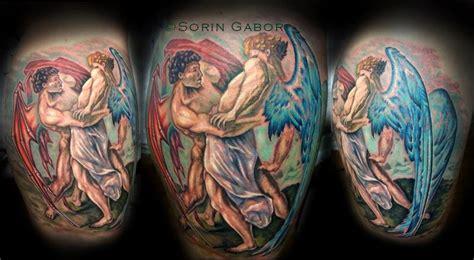 sorin gabor at sugar city tattoo tattoos evil color