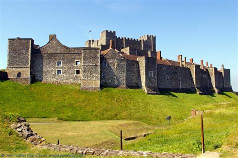 castle curtain wall panoramio photo of dover castle keep and inner curtain