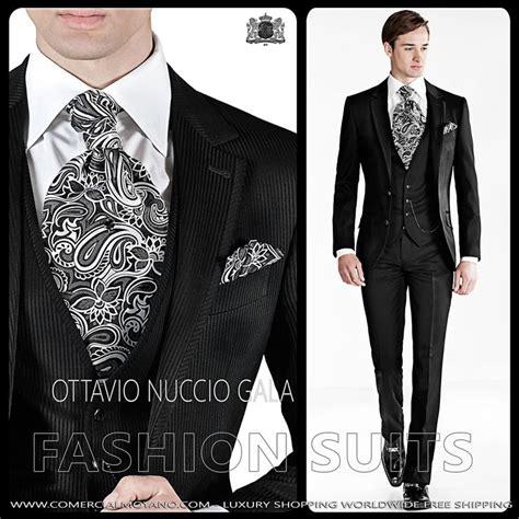 Conjunto PREMIUM de traje de novio italiano Ottavio Nuccio