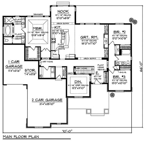 craftsman style homes floor plans craftsman style house plans one story inspirational baby nursery open floor home 1400 square