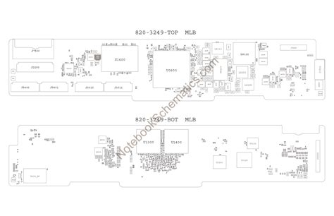 notebook layout view for ipad apple ipad4 schematic 820 3249 ipad 4th gen schematic
