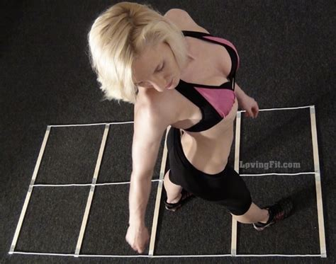 how to agility at home 56 best images about agility ladder on hit the floors how to make an and