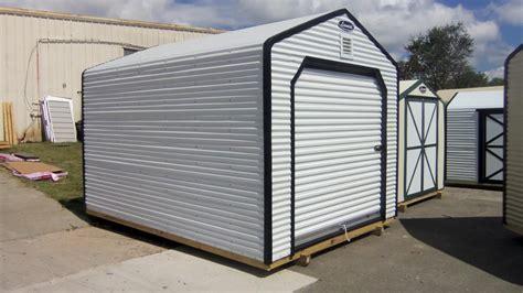 Corrugated Metal Shed by Metal Storage Sheds Metal Buildings Leonard Buildings