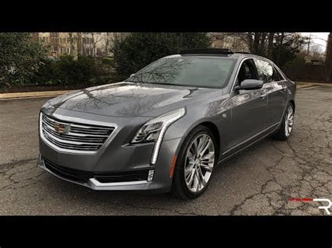 2019 Cadillac Self Driving by 2018 Cadillac Ct6 3 0tt Self Driving Future Is Nearly