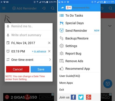 reminder app android top 7 best daily reminder apps for android to get things done