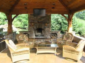 Outdoor Kitchen And Fireplace Designs learn more at passion 4 pizza com
