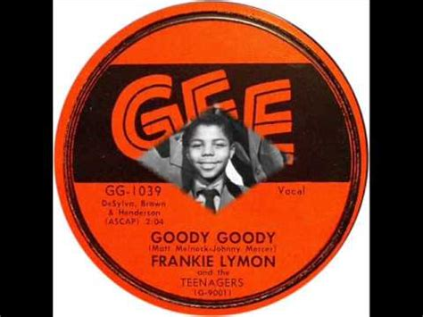 goody com frankie lymon the teenagers goody goody youtube