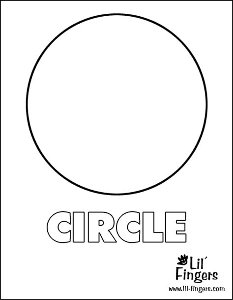 circle coloring page free circle shape coloring pages