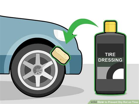 prevent dry rot  tires  steps  pictures wikihow