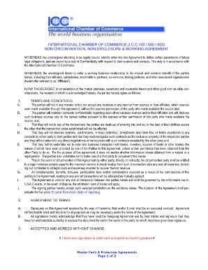 employee non disclosure agreement forms and templates