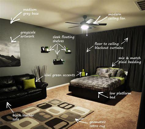 home design guys modern bachelor s bedroom callout in 2019 bedroom designs bachelor bedroom
