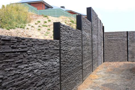 Cement Sleeper Retaining Walls by Kensington Concrete Sleepers Concrete Retaining Walls Adelaide And Melbourne