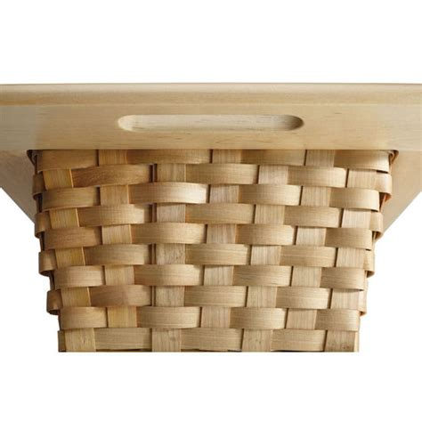 rev a shelf woven basket with rails in standard size kitchensource com rev a shelf woven basket with rails in standard size
