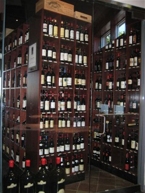 the wine room of cherry hill glass enclosed temperature controlled wine room