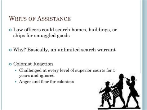 Of Assistance Search Warrants Homes Ppt The Intolerable Acts Powerpoint Presentation Id 2525680