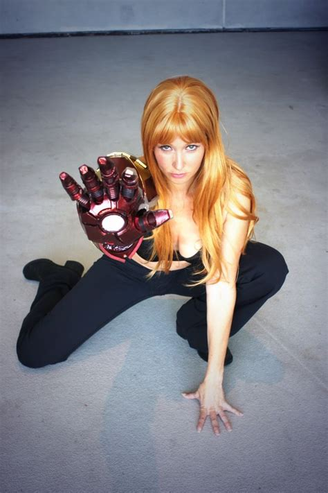 character extremis pepper potts ironman costume