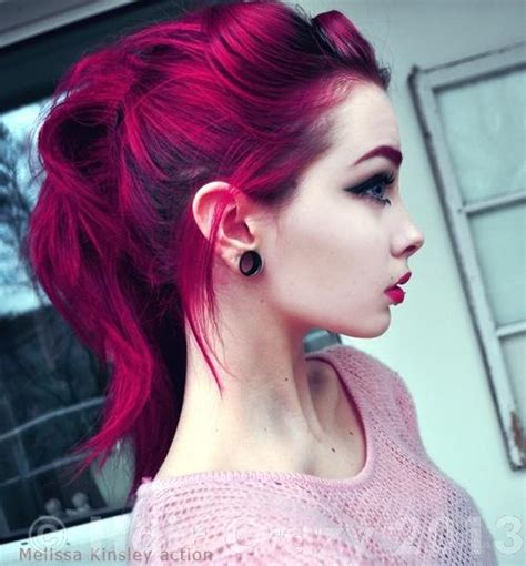 Slightly Punky And 90s Inspired By Magenta 2 by How To Get This Magenta Fuchsia Forums Haircrazy