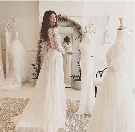 Brautkleider Nähen by Die Besten 17 Ideen Zu Brautkleid R 252 Ckenfrei Auf