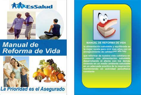 manual de vida 8434414880 corcino solis elizabeth manual de reforma de vida essalud
