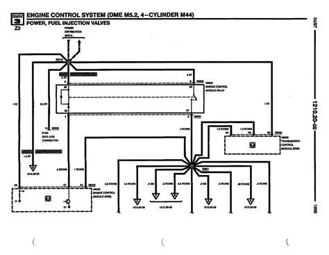bmw m44 wiring diagram 28 images repair manuals bmw
