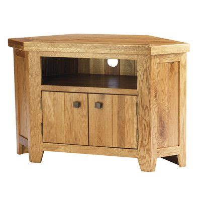 oak corner tv cabinet furniture woodworking projects plans