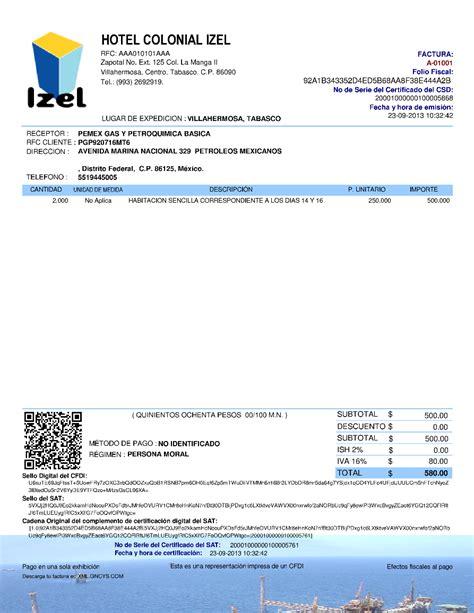 factura electronica generar nomina ejemplo cfdi gncys factura electr 243 nica 2018