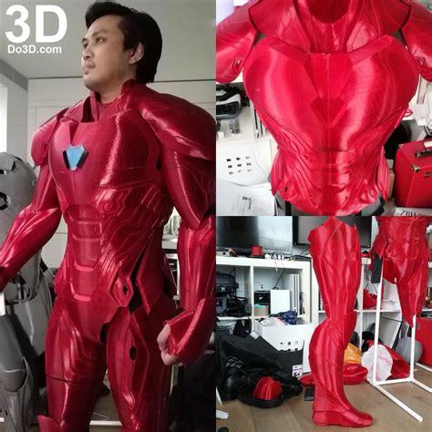 printable model iron man mark full body nanotech