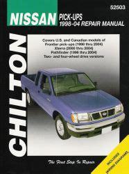 chilton car manuals free download 2001 nissan xterra instrument cluster 1998 2004 nissan pick ups 96 04 pathfinder 00 04 xterra chilton s manual