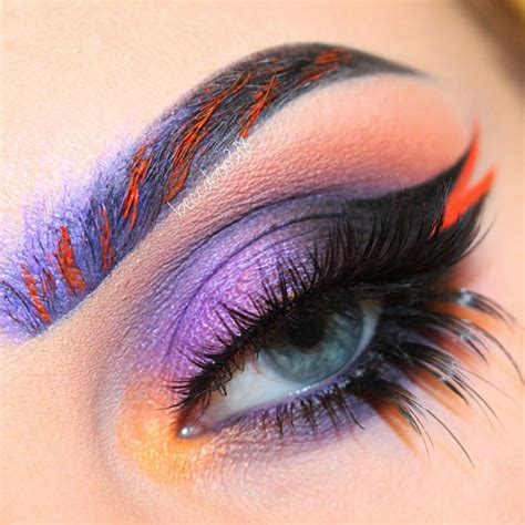 colored eyebrows rainbow eyebrows are the newest trend and they re fabulous