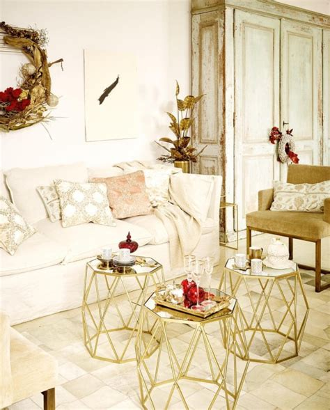 gold home decor gold d 233 cor ideas for a stylish home for the holidays