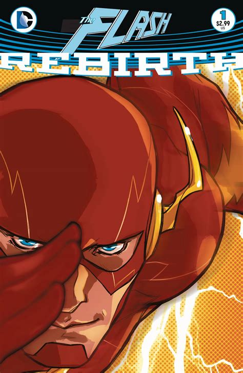 The Flash Rebirth the flash faces new enemies in dc rebirth ign