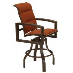 Padded Swivel Bar Stools Lakeside Ii Padded Swivel Bar Stool Tropitone