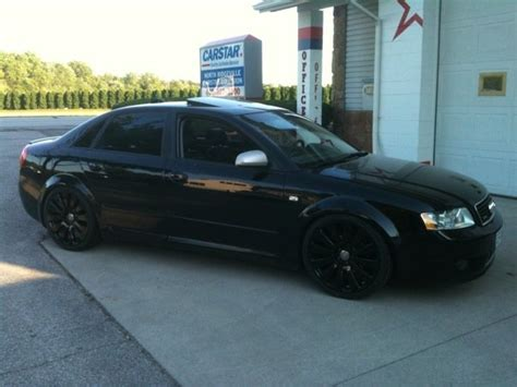 murdered out audi a4 audi a4 2004 blacked out www pixshark com images