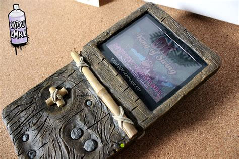 gameboy micro case mod this donkey kong themed skin is one of the best custom