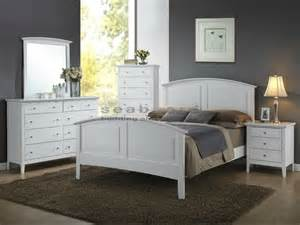 white bedroom set white panel 5 pc bedroom 3236