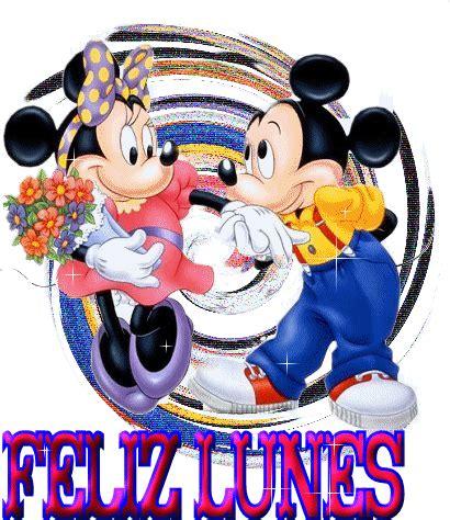 imagenes de lunes maravilloso mickey mouse y minnie mouse te desean un feliz lunes 128