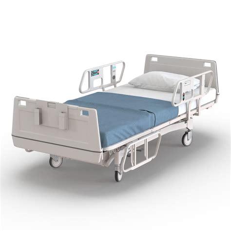 3d bed 3d 3ds hospital bed