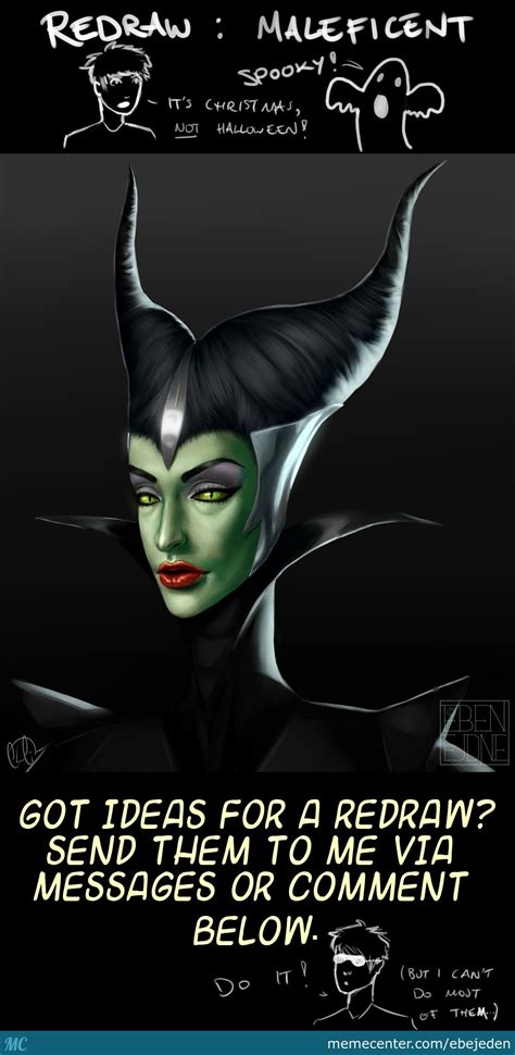 Maleficent Meme - redraw maleficent by ebejeden meme center