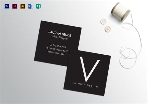 minimal business card template square minimal business card template in psd word