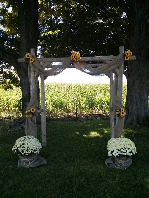 Wedding Arch Ac by Best 25 Rustic Wedding Arches Ideas On