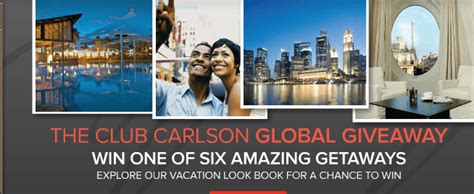 Global Giveaway - club carlson global giveaway traveling well for less