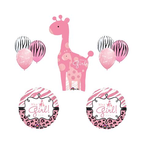 Safitri Pink pink giraffe baby shower www imgkid the image kid